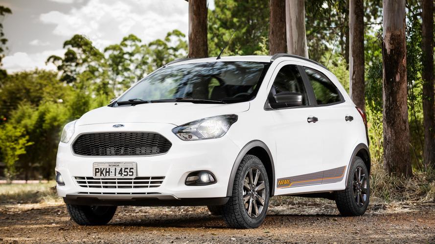 Teste Instrumentado Ford Ka Trail E Aventureiro Parrudo Mas Perde