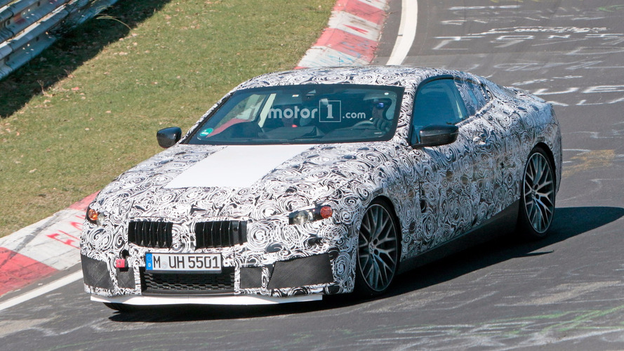 Possible BMW M8 Spied On The Nurburgring