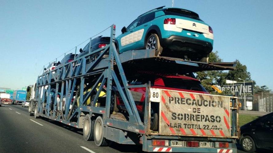 Flagra - Citroën C4 Cactus se prepara para o lançamento argentino