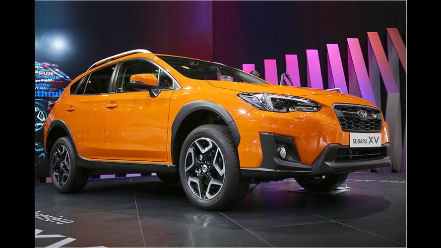 Subaru zeigt neuen XV auf dem Genfer Salon 2017