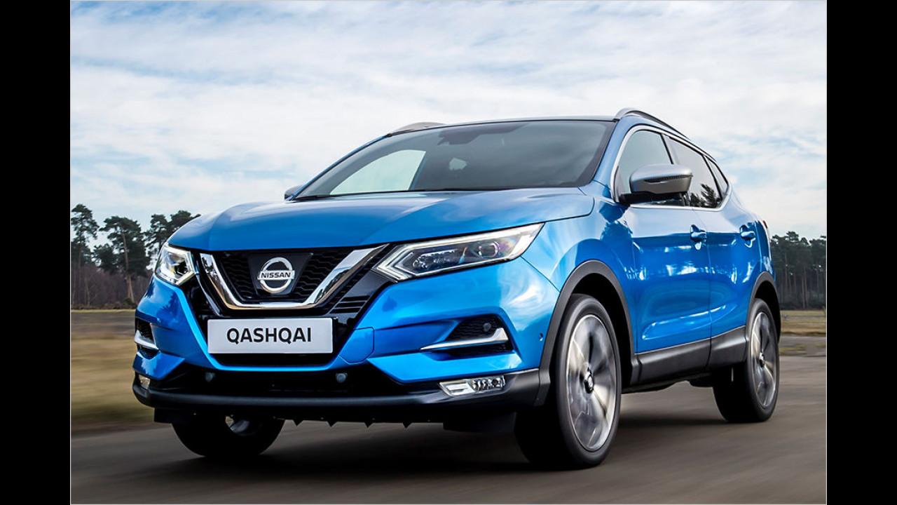 Platz sechs: Nissan Qashqai