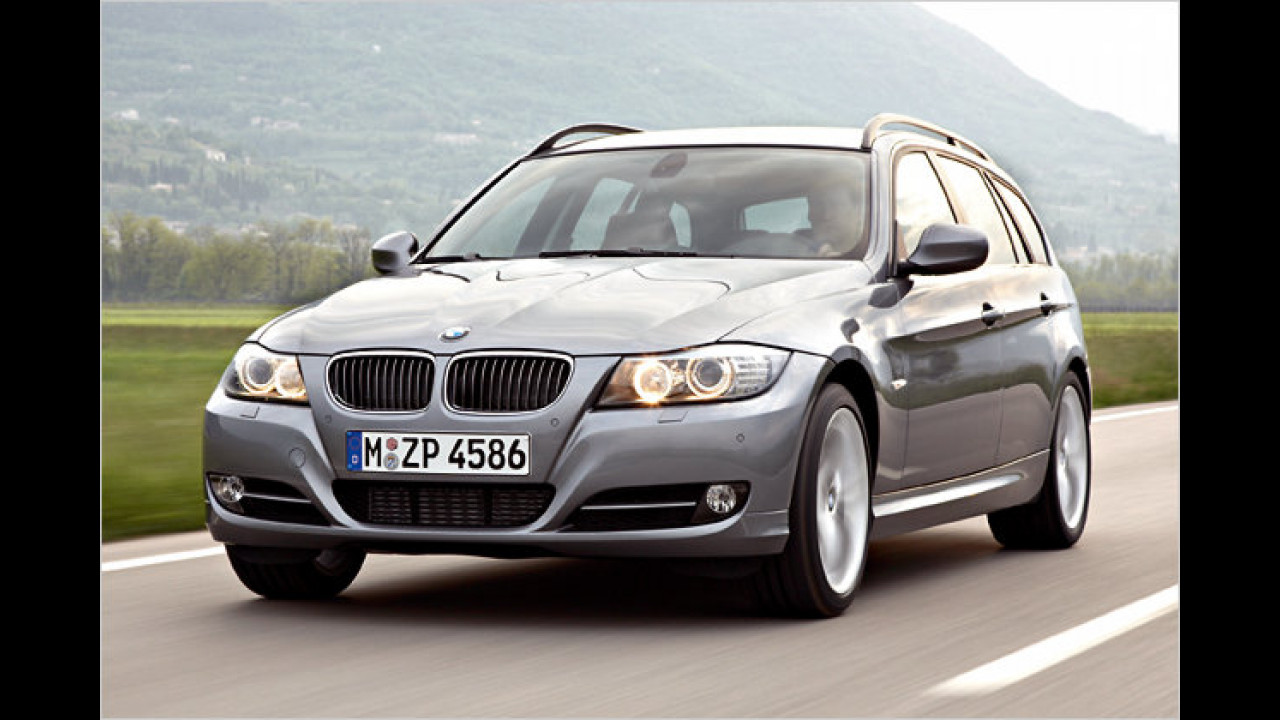 BMW 320d Touring BluePerformance