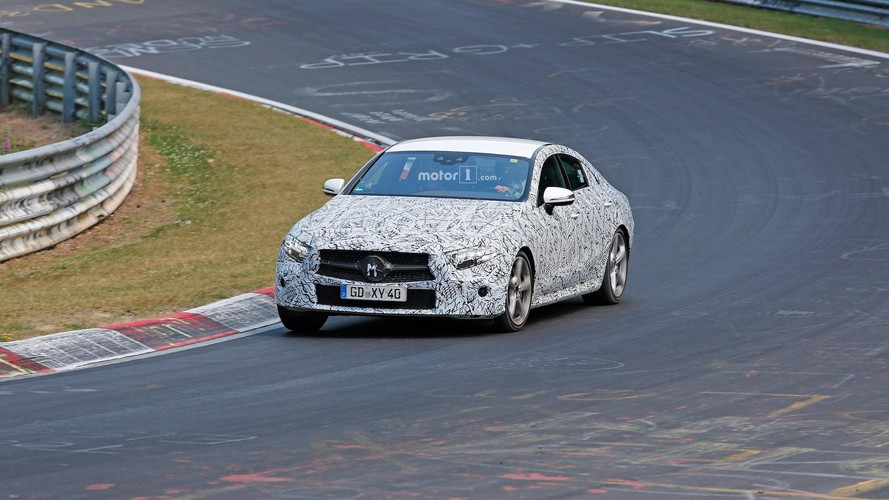 2018 Mercedes CLS Nurburgring Spy Photos