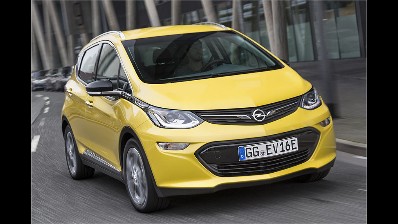 Top: Opel Ampera-e