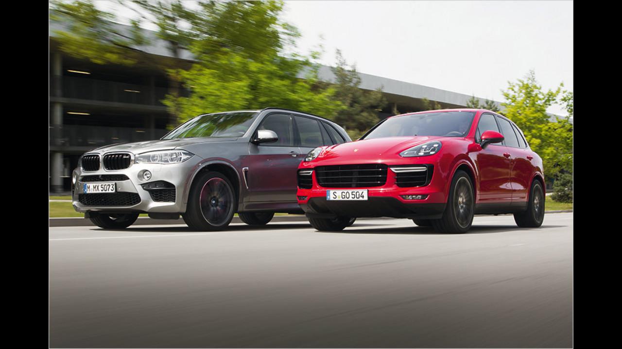 Vergleich: BMW X5M vs. Porsche Cayenne Turbo S