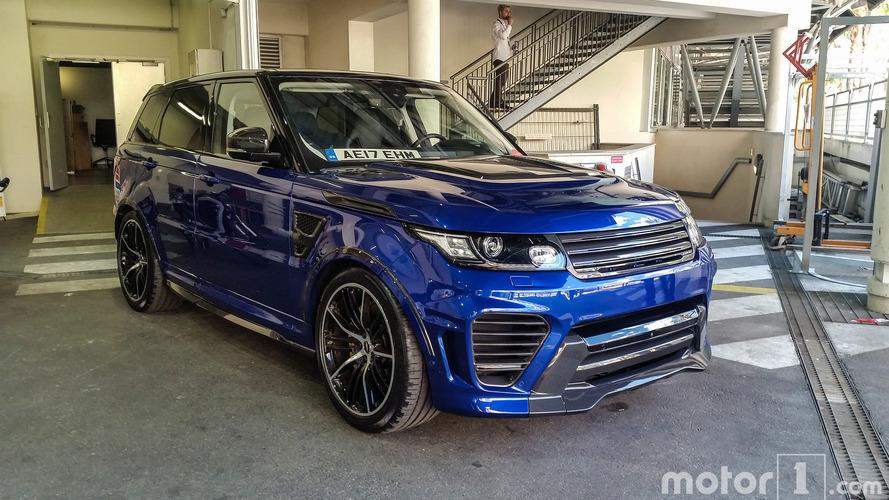 Rapide prise en main du Range Rover Sport SVR par Overfinch