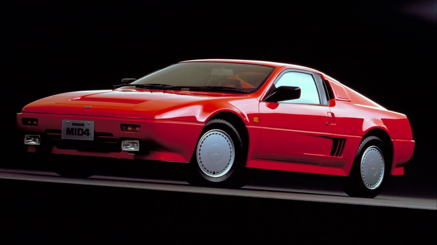 Concept We Forgot: 1985 Nissan MID4, 1987 MID4 Type II