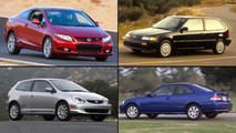 Honda Civic Si dört nesil