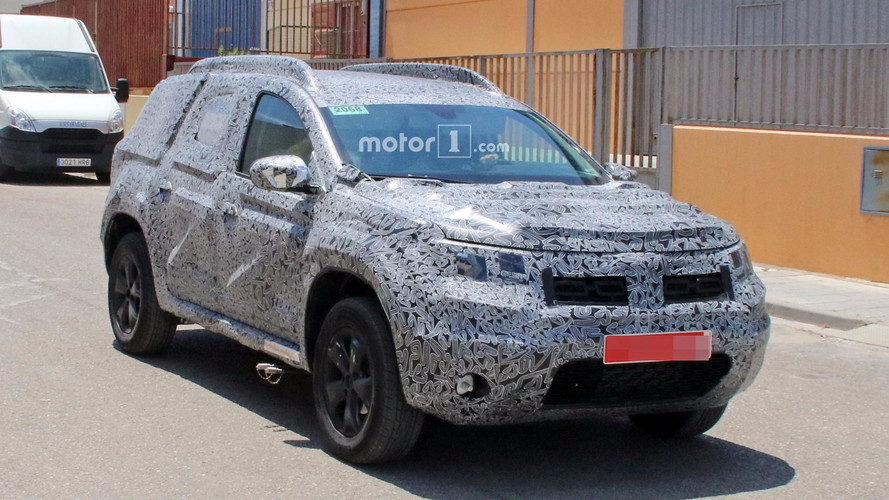 2018 Dacia Duster Caught In Detail Possibly Showing New Features