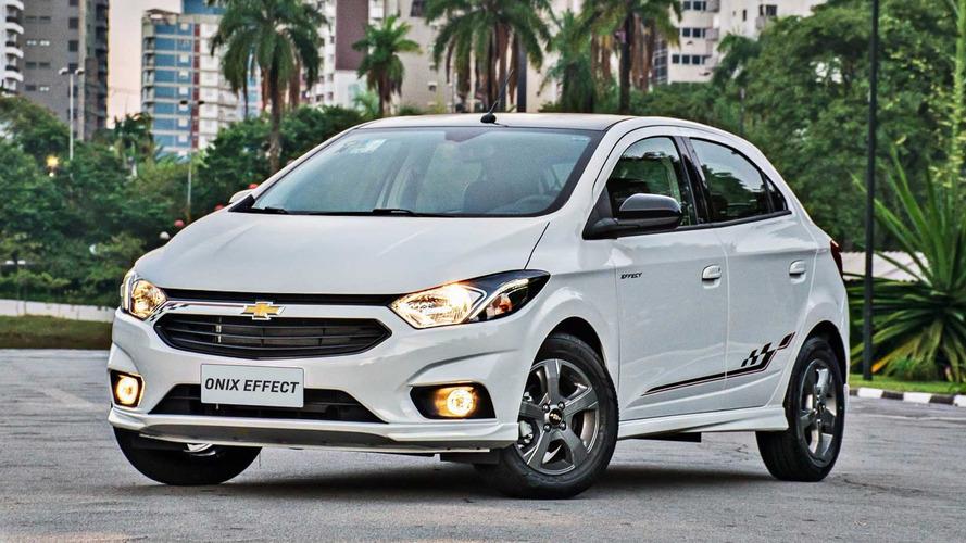 Chevrolet lança Onix Effect com a linha 2018 (e aumento de preço)