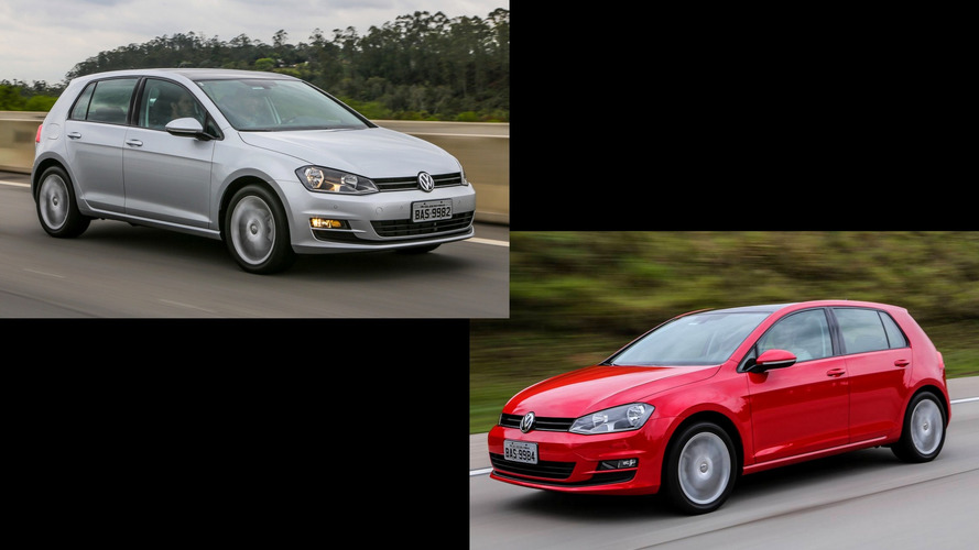 Briga em casa - VW Golf 1.0 TSI x Golf 1.6 MSI
