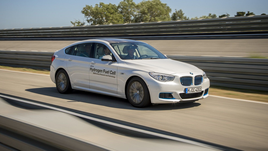 BMW hidrojen yakıt hücreli 5 Serisi GT