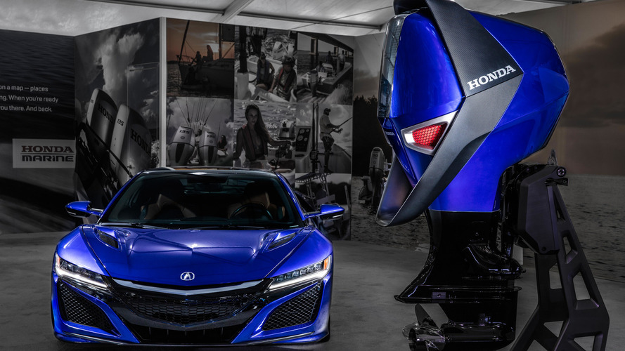 Acura NSXinspired Engine Design Could Hang Off Your Next Boat - Acura nsx motor