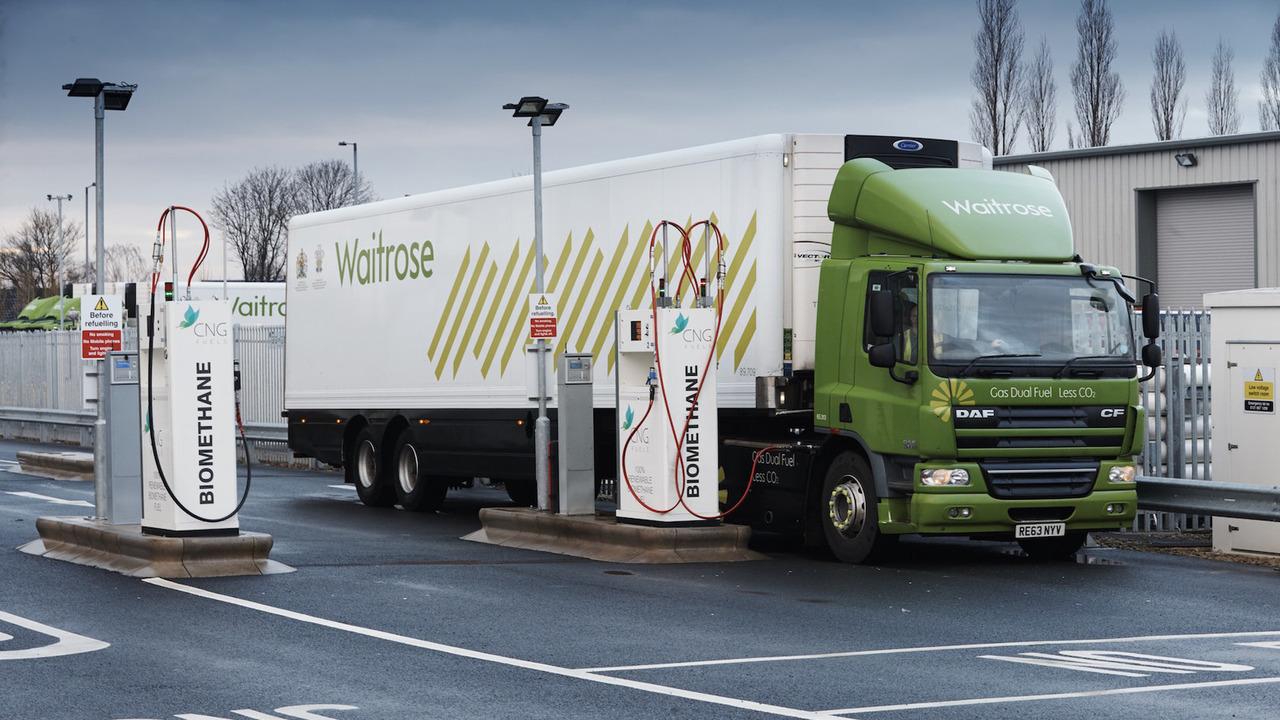 Waitrose truck