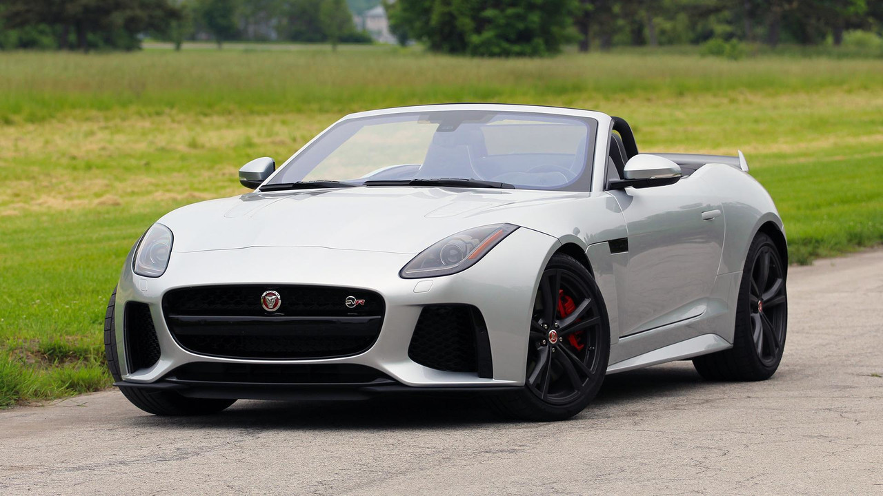 2017 Jaguar F Type Svr Convertible Review 3 Of 26 Motor1