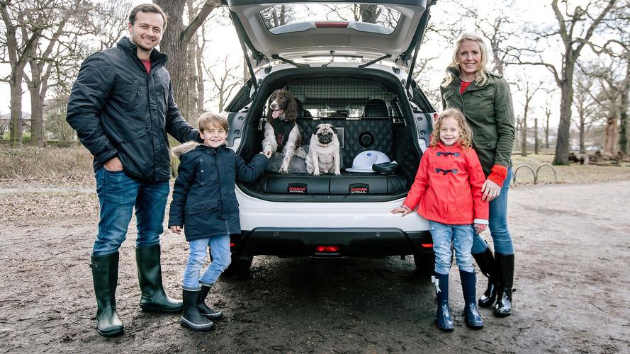Nissan X-Trail 4Dogs: los perros, como en casa