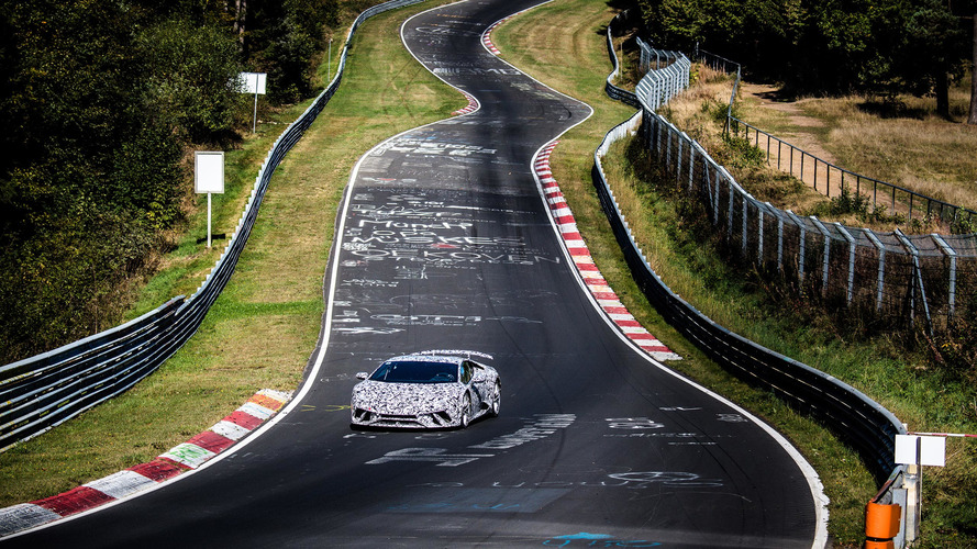 Lamborghini Huracán Performante sets new Nürburgring lap record