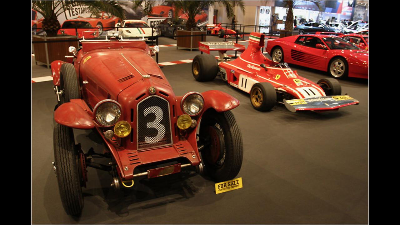 Scuderia Ferrari und Alfa Romeo