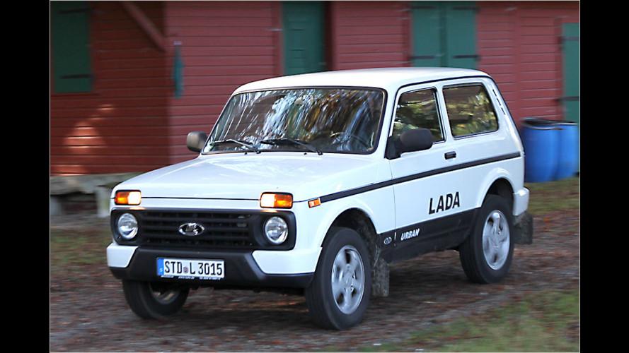 Lada Urban 4x4 im Test: Wird das Urgestein zum Weichei?