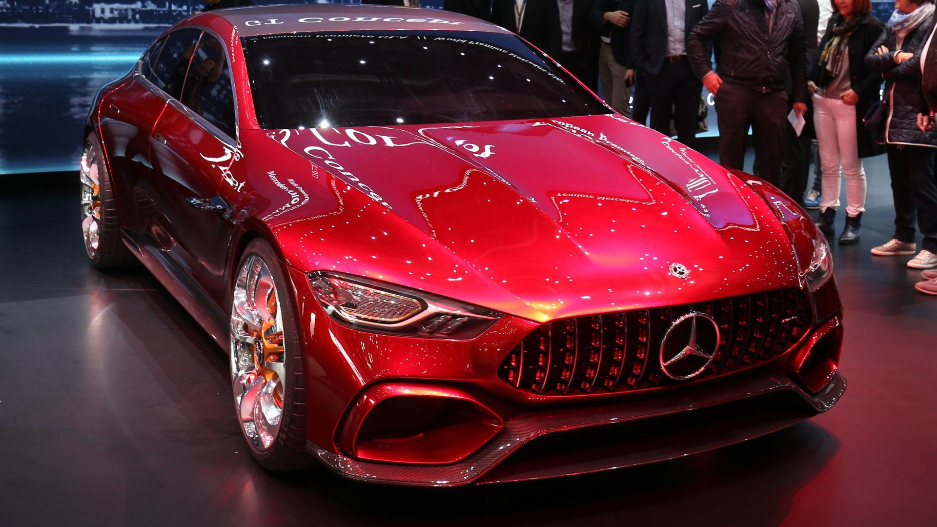 Amg Gt Concept >> Mercedes Amg Gt Concept Is The Hybrid Sports Car For The