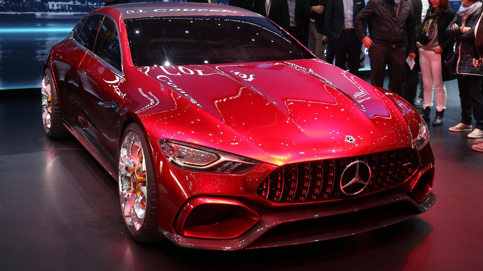 Mercedes benz gt concept