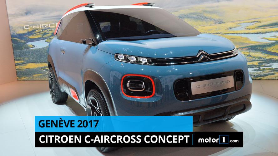 VIDÉO - Citroën C-Aircross Concept en direct de Genève