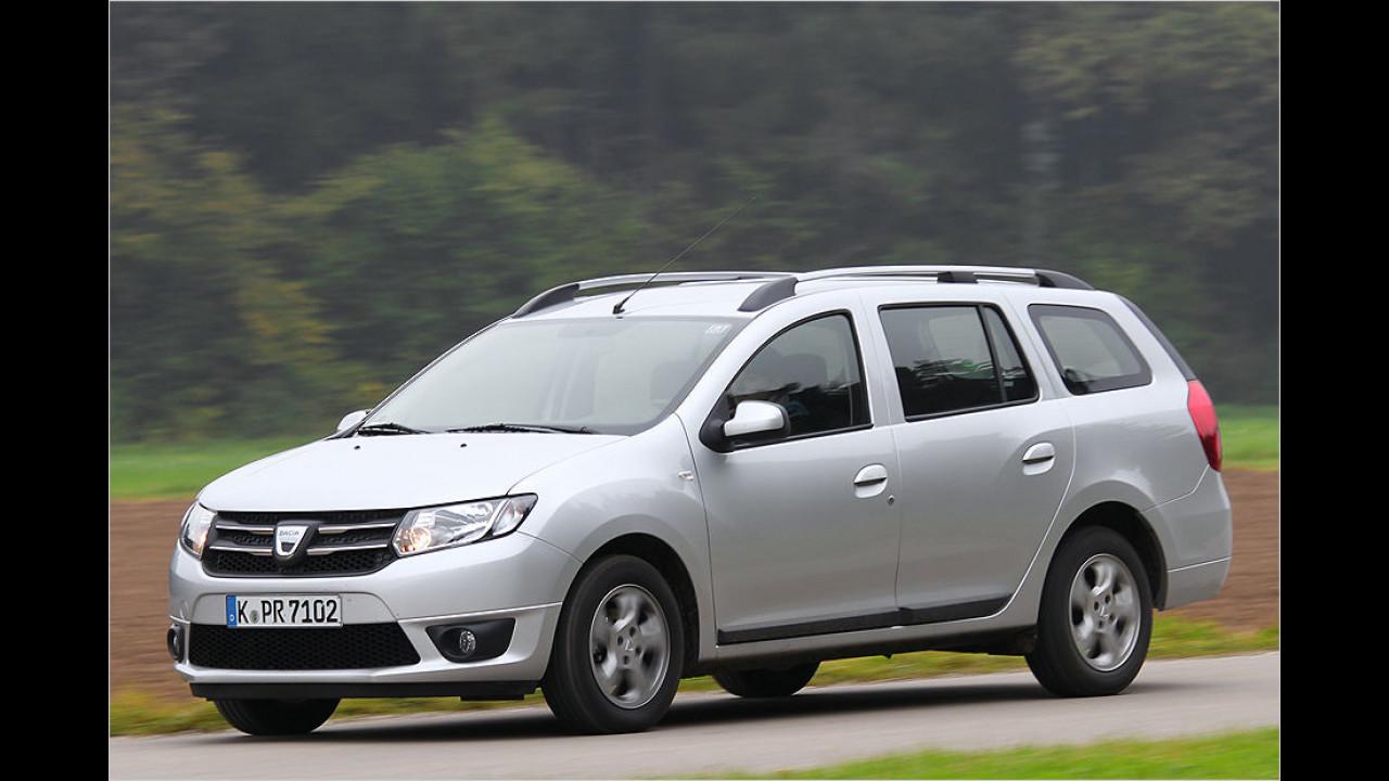 Dacia Logan MCV 1.2 16V, 73 PS: 7.990 Euro