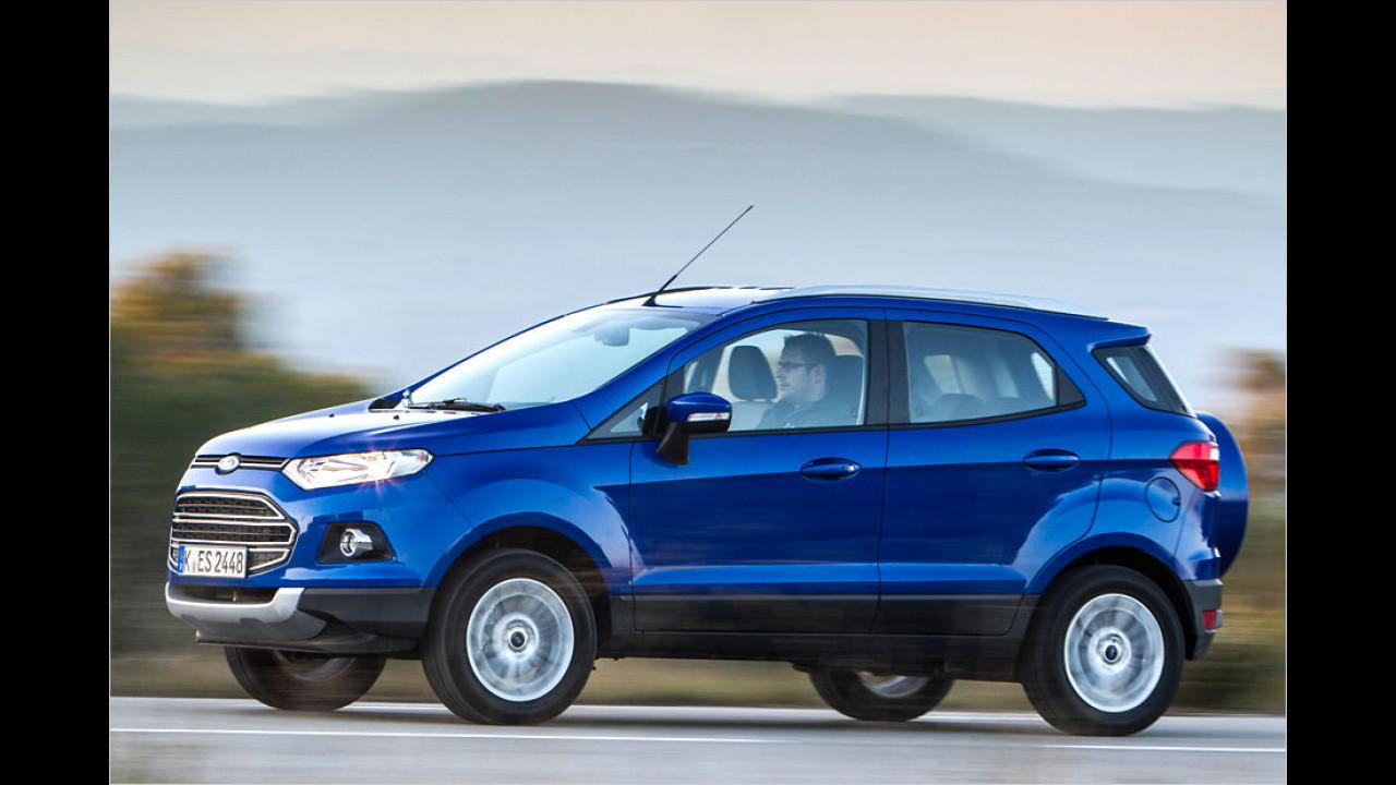 Platz 8: Ford EcoSport 1.5 TDCi (ab 20.440 Euro)