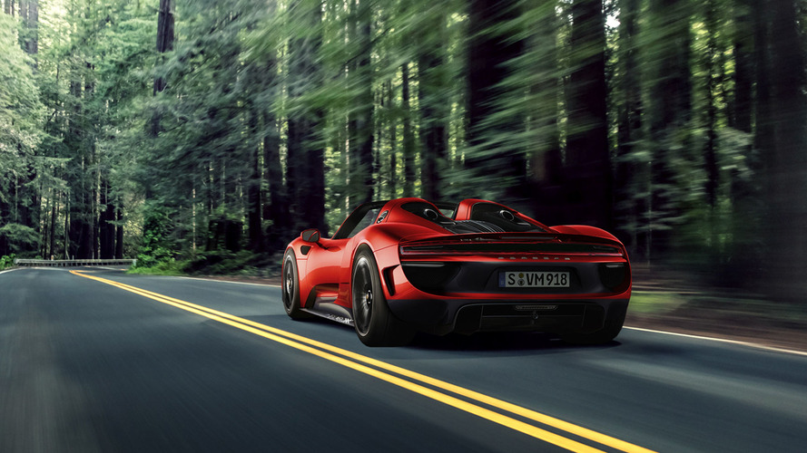 İmkansızı hayal edelim: Makyajlı Porsche 918 Spyder