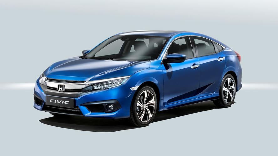 Honda Civic Sedan 2017: confirmado para el mercado español