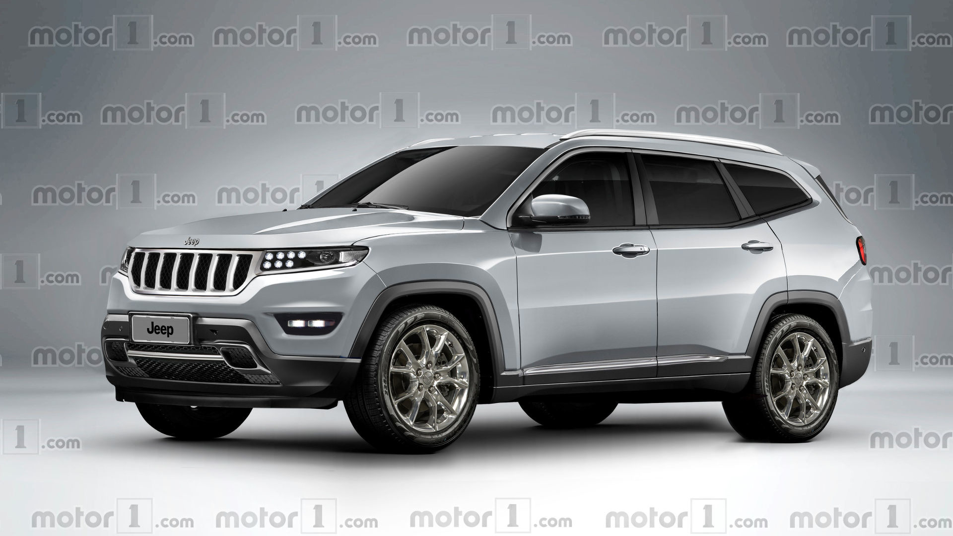 Jeep Grand Wagoneer Rendered Looking Luxurious