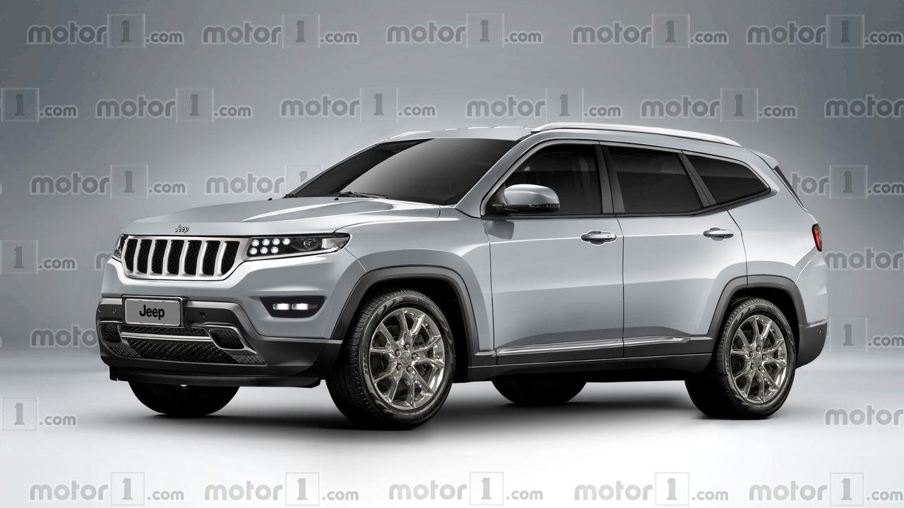 Jeep Grand Wagoneer tasarım yorumu