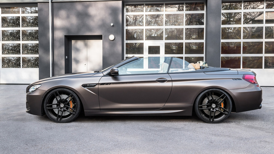 800 hp BMW M6 Convertible can hit 205 mph