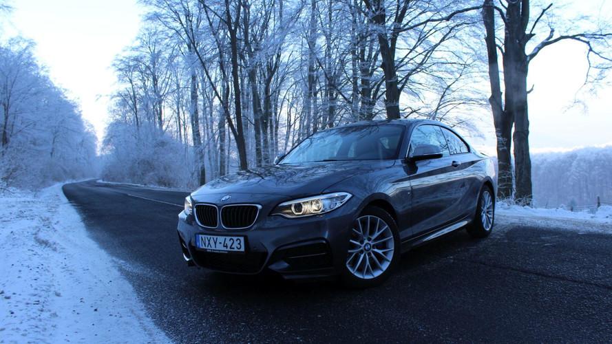 BMW M240i xDrive Coupé Teszt