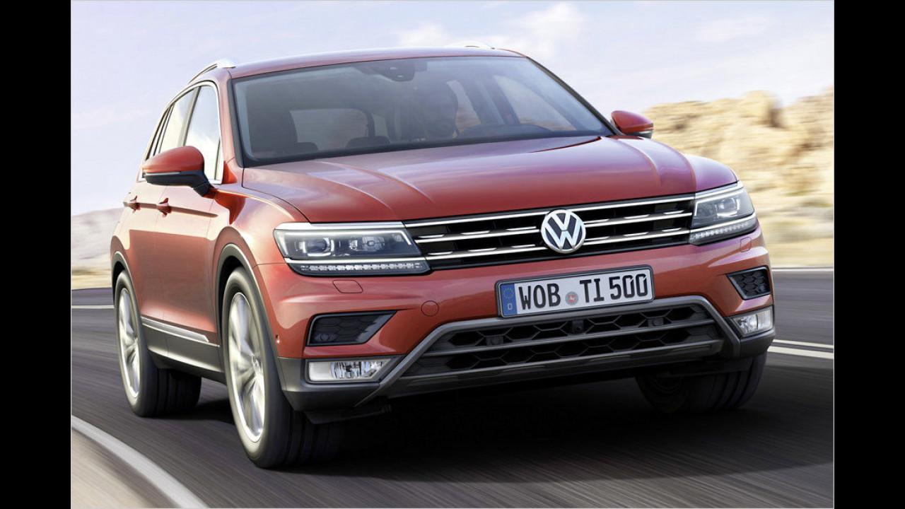 Platz 8: VW Tiguan, Durchschnittspreis 34.647 Euro