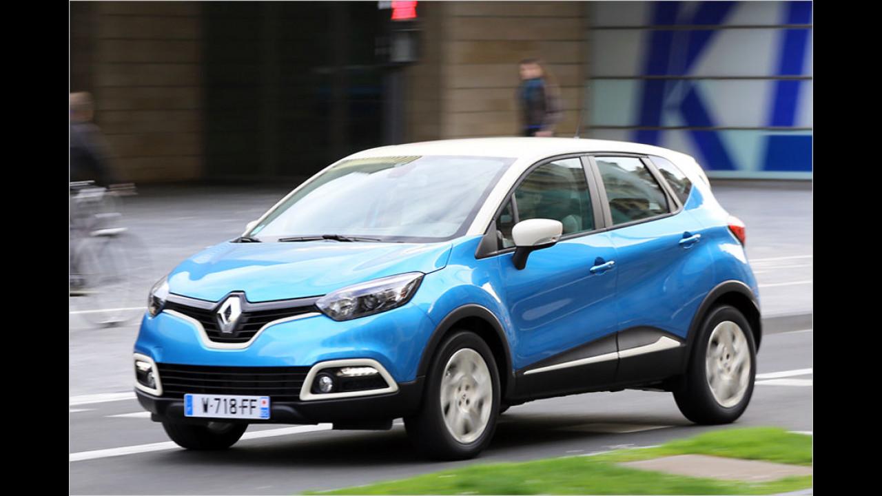 Platz 10: Renault Captur