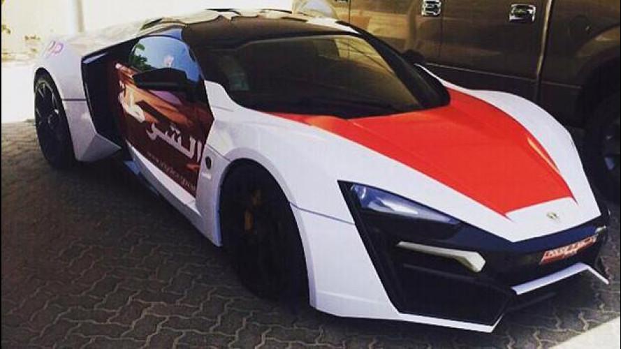 La supercar di Fast and Furious 7 è entrata nella polizia di Abu Dhabi