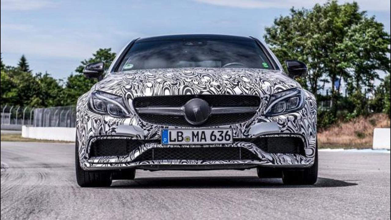 [Copertina] - Mercedes C 63 AMG Coupé, si scopre per la prima volta