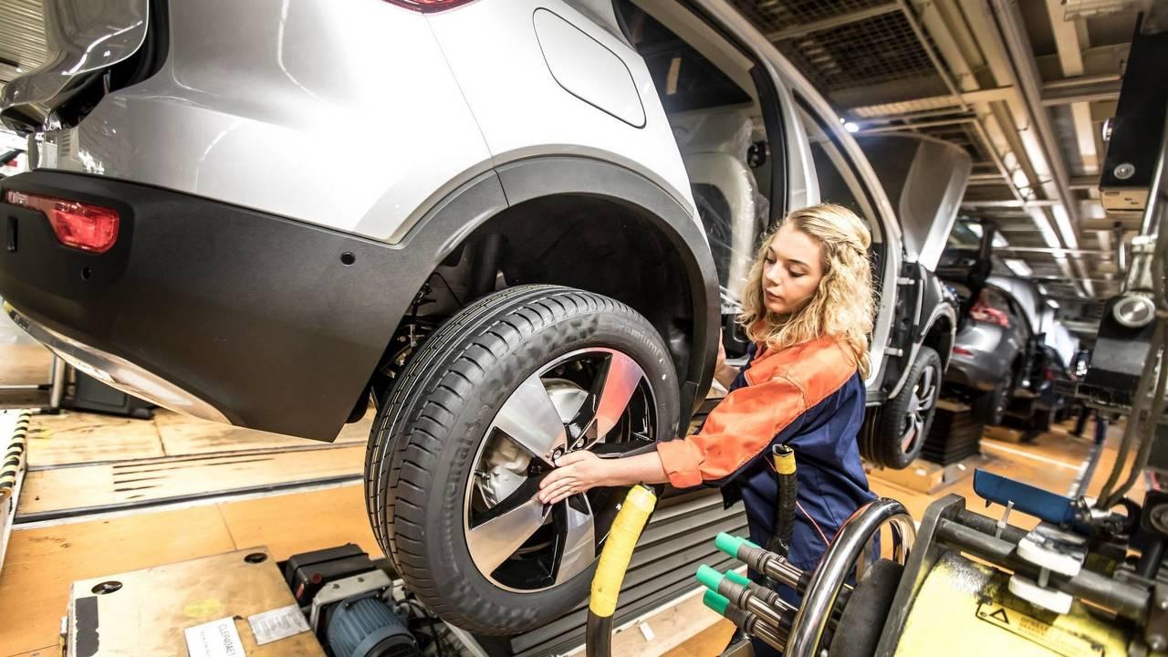 Volvo Üretim Hattı