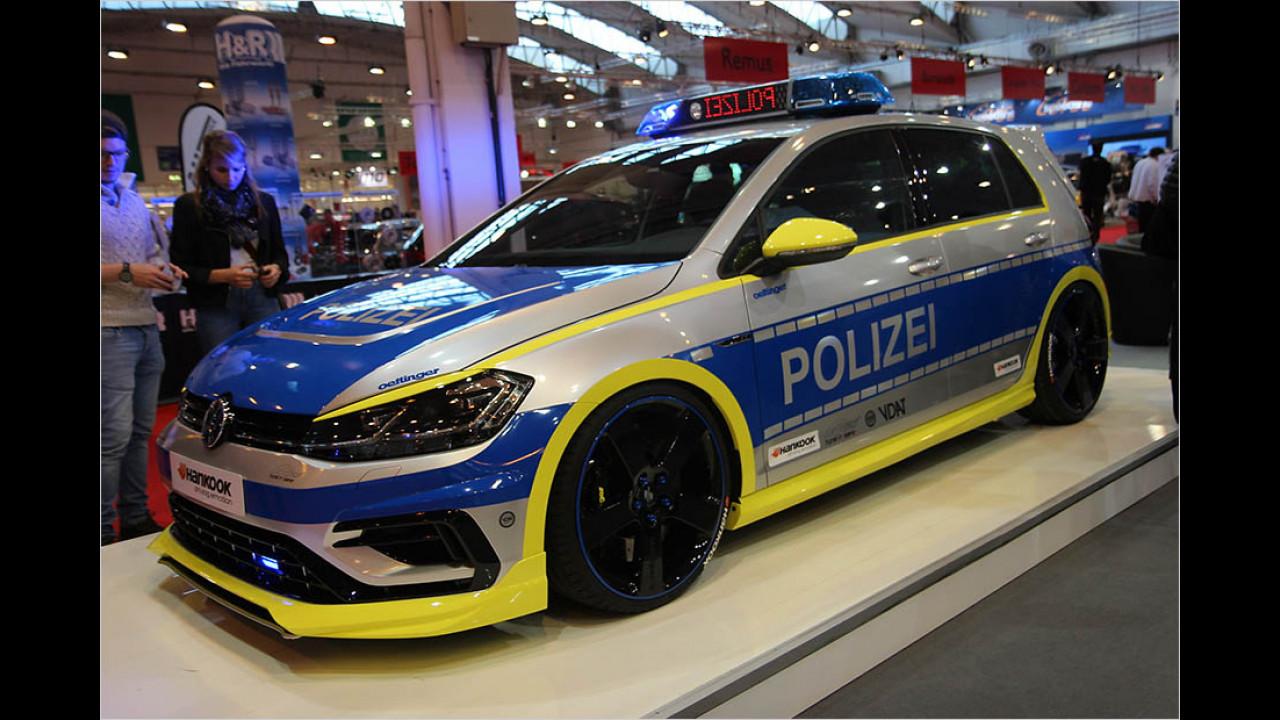 Tune it! Safe! Polizei-Golf von Oettinger