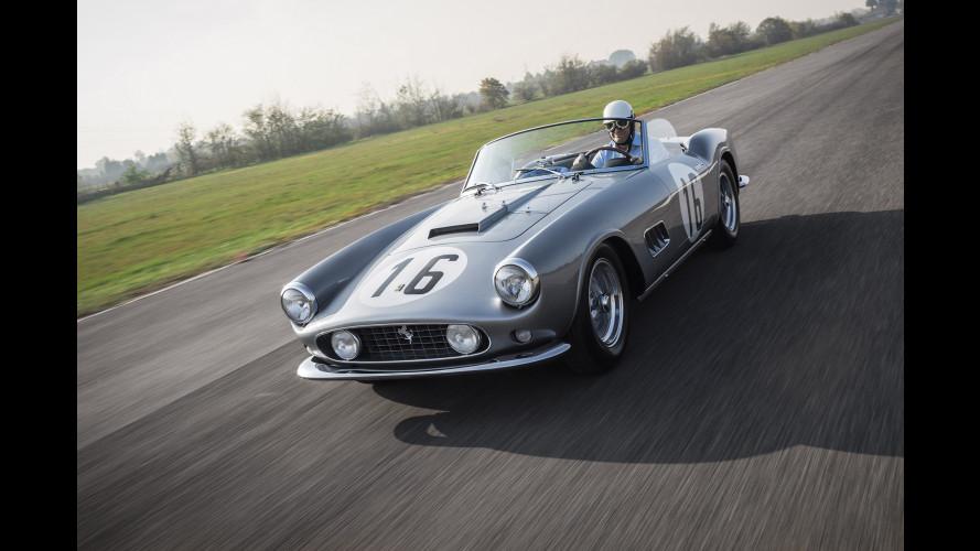 Ferrari 250 GT Spyder California, una regina di Le Mans all'asta