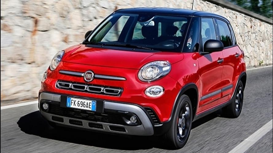 """Fiat 500L restyling, la """"familiare"""" è più """"cross"""" e tecnologica"""