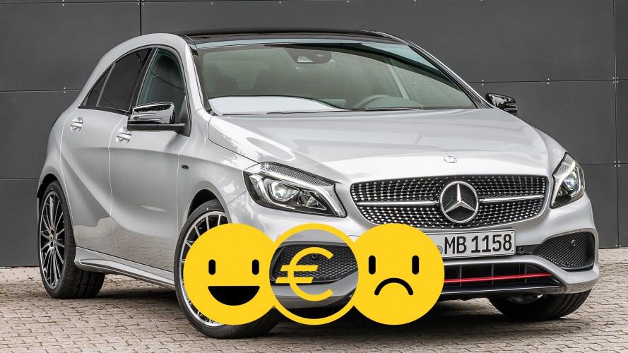 Promozione Mercedes Classe A, perché conviene e perché no
