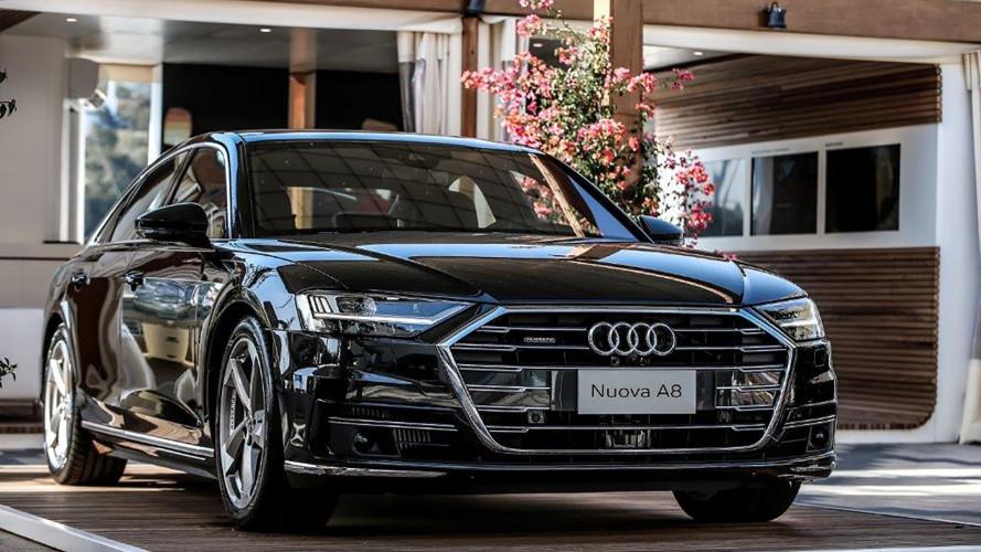 """Audi A8, la """"prima"""" italiana è in Costa Smeralda"""