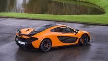 McLaren P1 deney prototipi