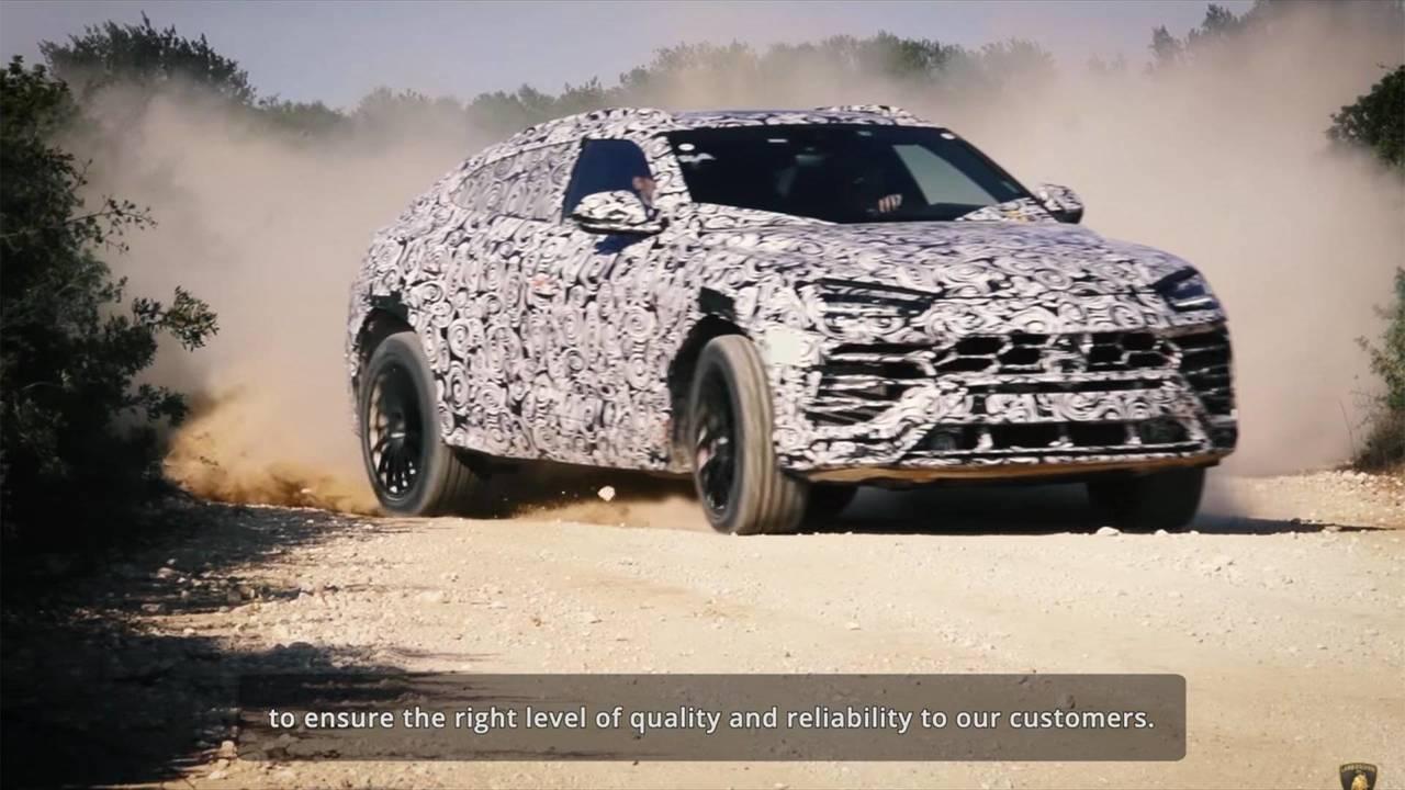 Lamborghini Urus Quality Control Video