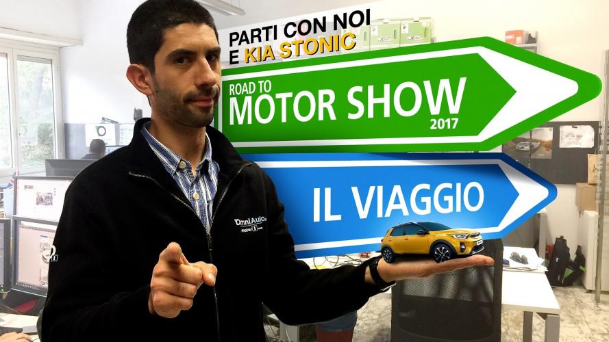 Motor Show 2017: da Roma a Bologna con OmniAuto.it in Kia Stonic!