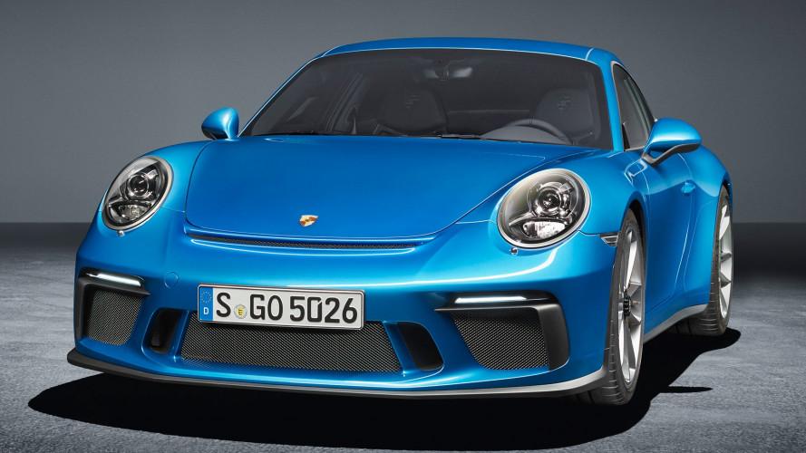 Porsche 911 GT3 con pacchetto Touring, per chi la vuole sobria
