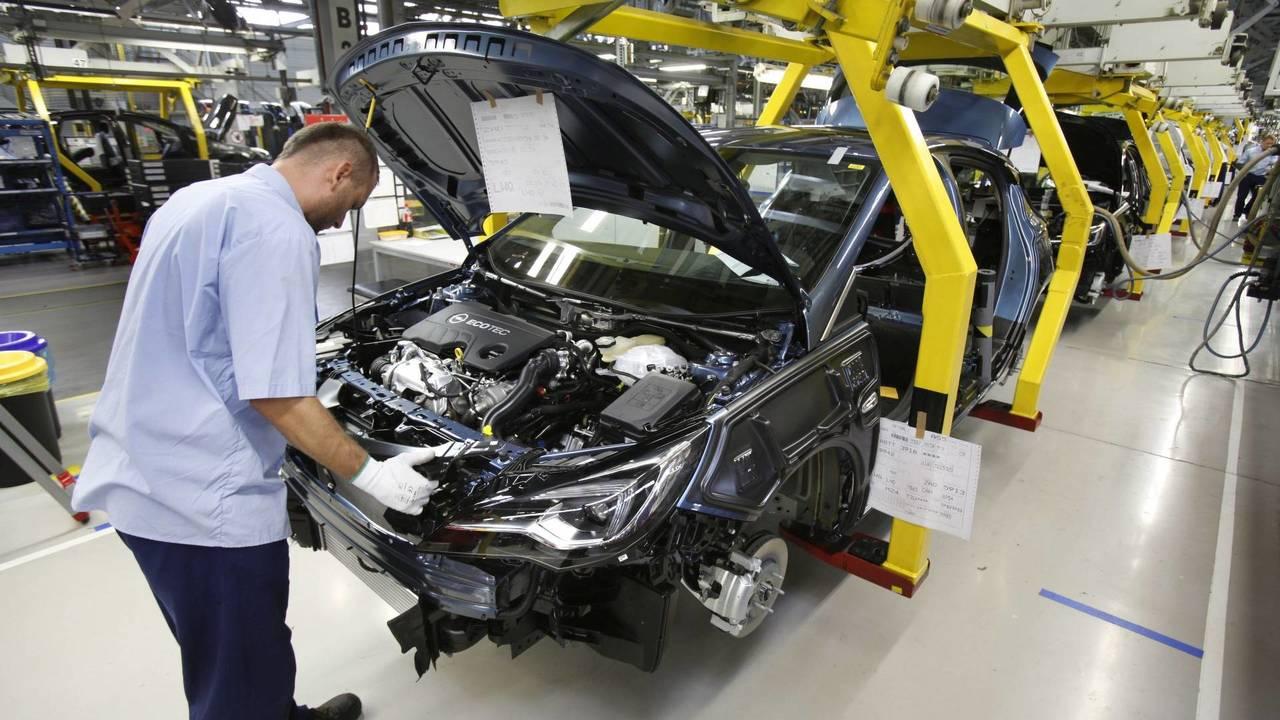 Opel Astra gyártása