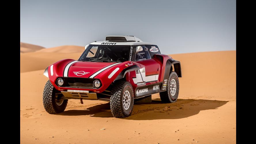 Mini si sdoppia per la Dakar 2018, arriva anche la